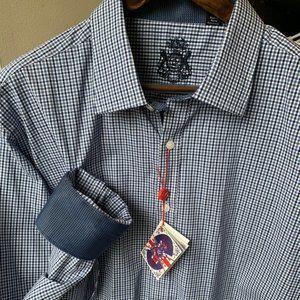 English Laundry Mens Dress Shirt Size 18 XXL